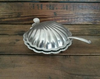 Small Clam Shell Butter/ Condiment Dish