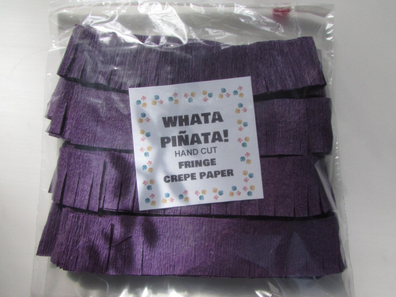 What Colors Make Purple pinata fringe - make a pinata - pinata party - purple - piñatas
