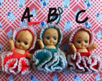 Kawaii vintage Kewpie dolls / rubber toys figurine from Japan : 15USD for each / pick one
