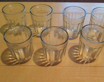 vintage jelly jars