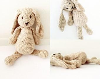 Crochet Rabbit crochet bunny easter bunny made to order