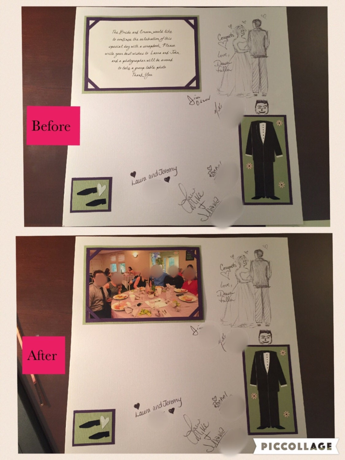 Guest Book Wedding Scrapbook Pages By Scrapgirly1 On Etsy