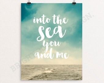 Sea And Me Lyrics Into You The