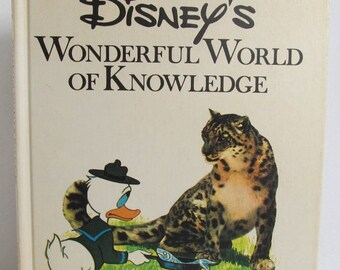 Disney's Wonderful World Of Knowledge - 1973 Animal Facts
