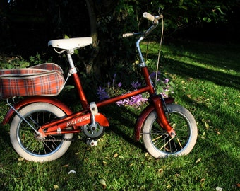Vintage - Childs 1960's -  Raleigh RSW 11 -  Junior