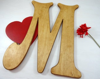 Wood Wedding Letters Signature Letters Wedding Letter Signs Alternative Signature Books Large Wooden Letters Personalized Uppercase Letters