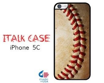iPhone 5C Case iPhone 5C Phone Case Custom iPhone 5C Skin for iPhone 5C Cover iPhone Protective Case iPhone 5C Baseball Design Case