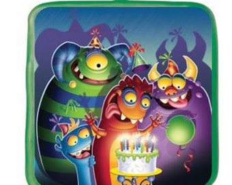 "Monster Mania Candle / Cake Topper 3"" Tall (Fast Shipping)"