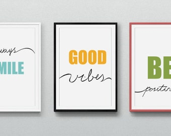 Positive quotes Inspirational print-prints-home decor-wall decor-office decor-positive poster-INSTANT DOWNLOAD