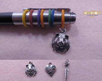 Guinea pig pen charm of your choice.