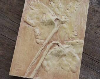 Lenten Rose Decorative Tile
