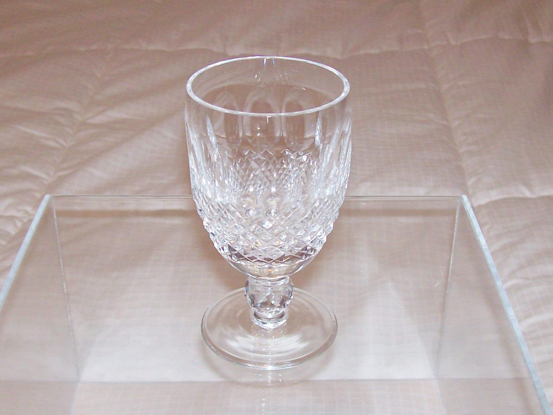 Waterford crystal stem vintage