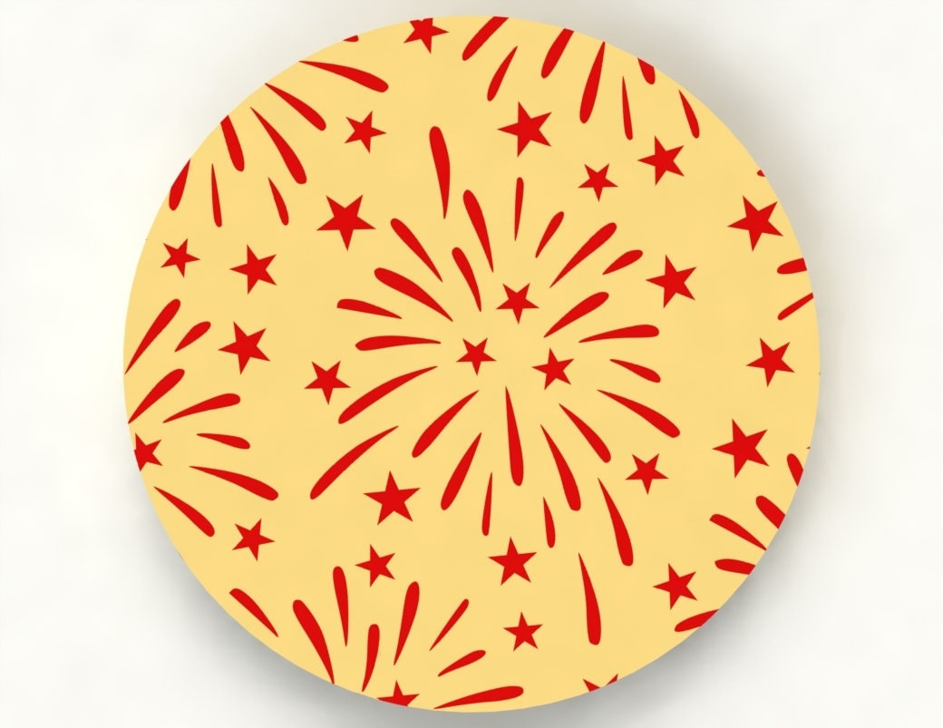 fireworks cookie stencil sc050044 by yummycutz on etsy