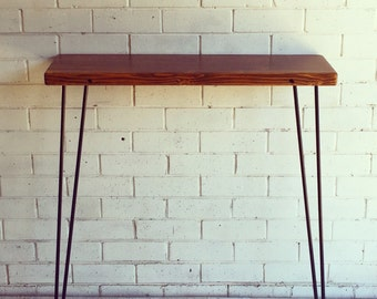 Recycled OREGON console with hairpin legs