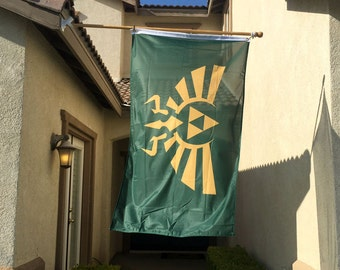 Zelda Triforce Flag 3' x 5'