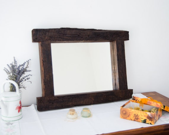 Unique Mirror Wood Design Interior Decor Rustic Mirror