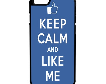 Keep Calm Like Me iPhone Galaxy Note LG HTC Hybrid Rubber Protective Case