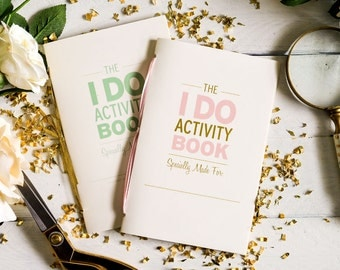 "PRINTABLE ""I Do"" Wedding Activity Book"