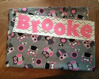 """Personalized """"Brooke"""" pillowcase"""