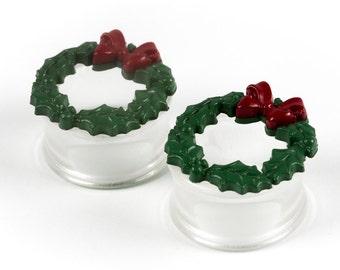 "1"" holiday wreath plugs"