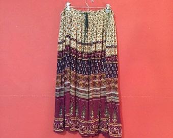 Hippie Peasant Skirt