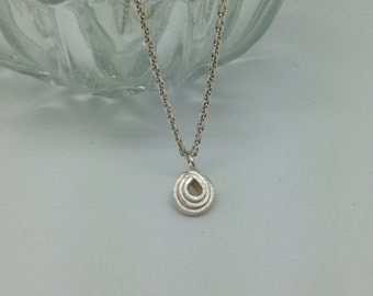 Pendant 'hundertwasser' sterling silver