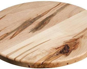 Wood Lazy Susan Handmade in North Carolina Ambrosia Maple