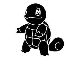 Squirtle Pokemon SVG File!