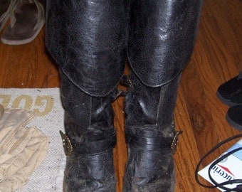 Pirate Boots or Boot Covers Sci Fi Fantasy