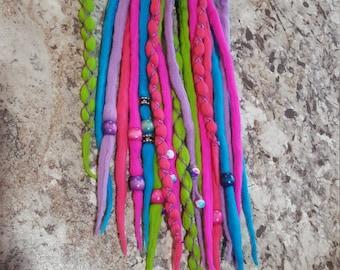 20 merino wool dreads