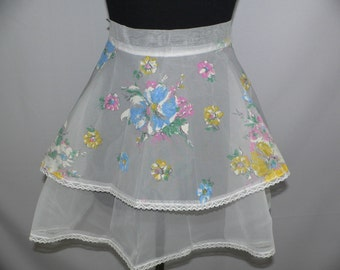 1950's Vintage Fruit of the Loom Apron  New With Tags