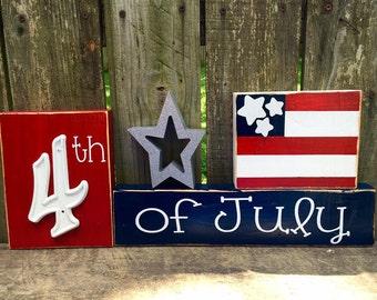 4th of July Blocks