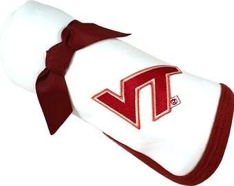 Virginia Tech Hokie Baby Receiving Blanket
