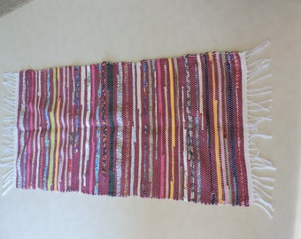 Hand Woven Rag Rug (16-12)