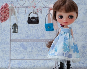 Dress for Blythe with lace.