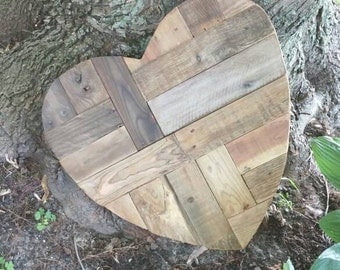 Big wood heart (on order only)