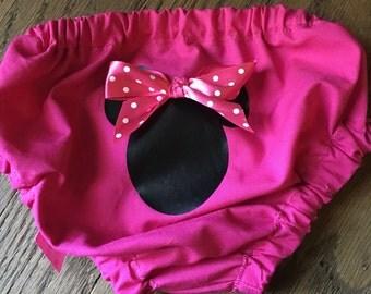 Hot pink Diaper Cover