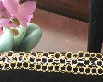 3x3 Chain Maille Bracelet