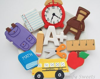 School / Teacher Cookies
