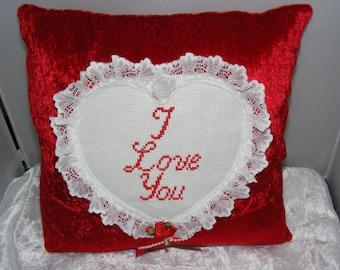 Valentine cushion