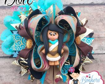 Indian Princess Hair bow