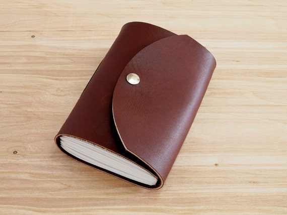 Freemont - 4X6 Brown, Handmade Leather Journal