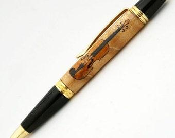 Violin Inlay Pen