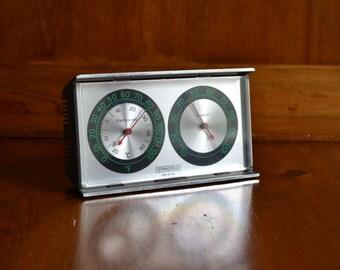 Weather Station/Temperature/Hydrometer Vintage Springfield Desktop