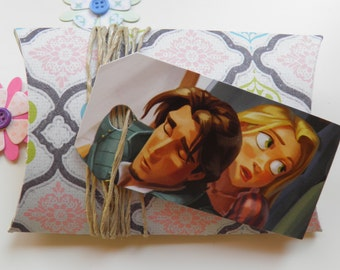 Tangled, 10 gift tags, Handmade, Disney, Tangled labels, Tangled gift tags, Disney labels, Disney gift tags, Paper ephemera, #270