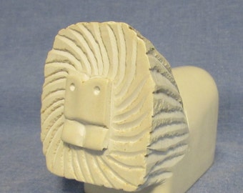 Lion, Hand Carved and Polished, Stone, African Art,  Kenya, 1980's