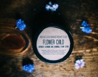 FLOWER CHILD Hemp Body Lotion