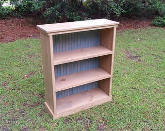 Shabby Chic Wood Bookcase