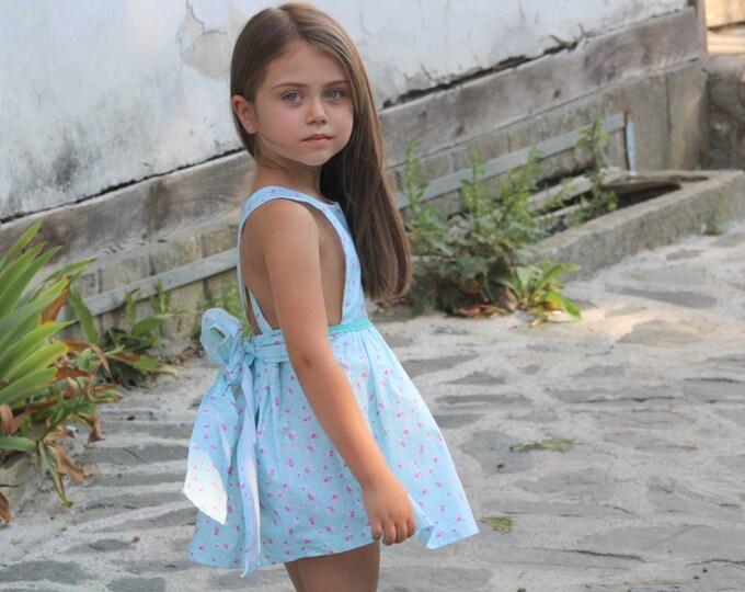 Apron dress/Girls dress/Rustic dress/Vintage for kids/Size 2T,3T