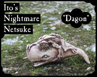 Ito's Nightmare Netsuke - Dagon -